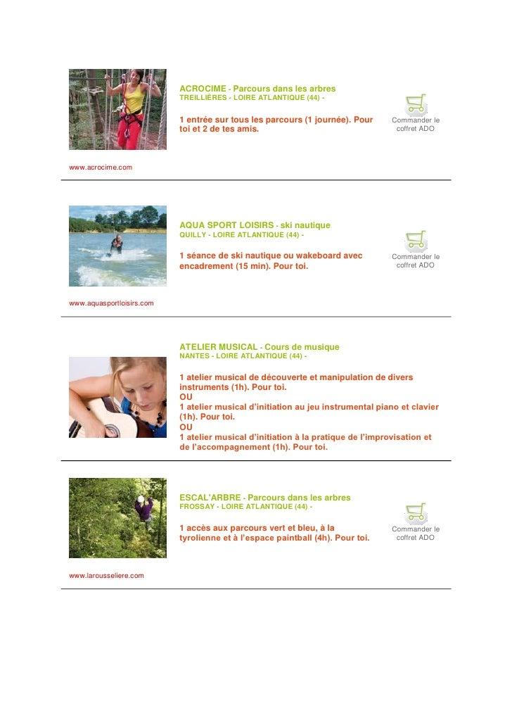 ACROCIME - Parcours dans les arbres                            TREILLIÈRES - LOIRE ATLANTIQUE (44) -                      ...