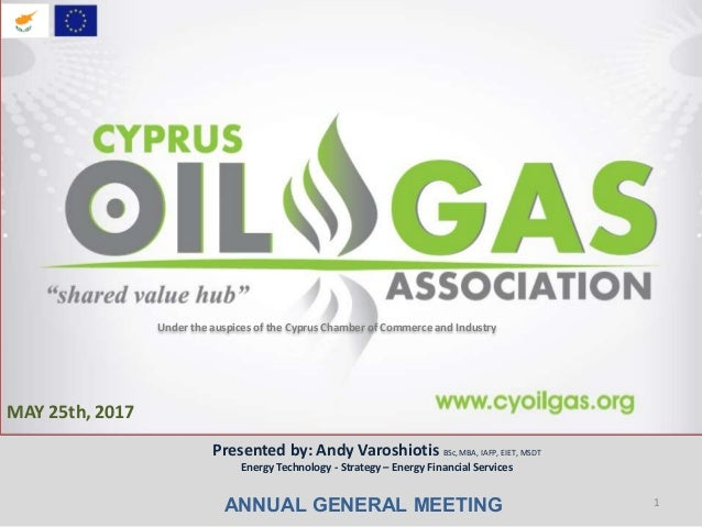 Cyprus Oil & Gas Association May 2017