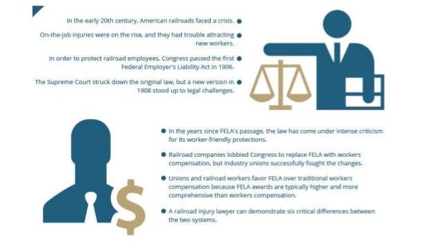Cogan Understanding 6 Key Differences Between FELA And Workers Compensation Slide 2