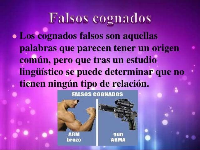 • Los falsos cognados en inglés también son llamados falsos amigos, estas palabras en inglés y español se asemejan entre s...