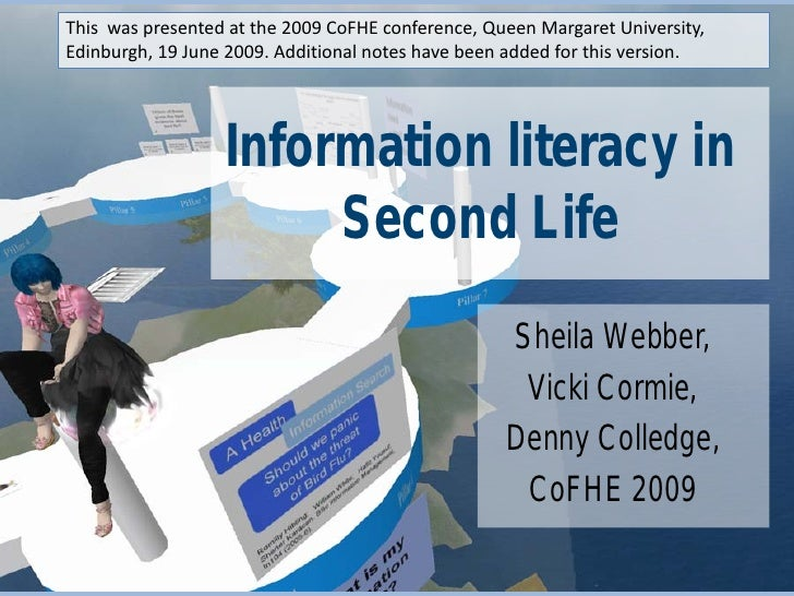 This was presented at the 2009 CoFHE conference, Queen Margaret University, Edinburgh, 19 June 2009. Additional notes have...