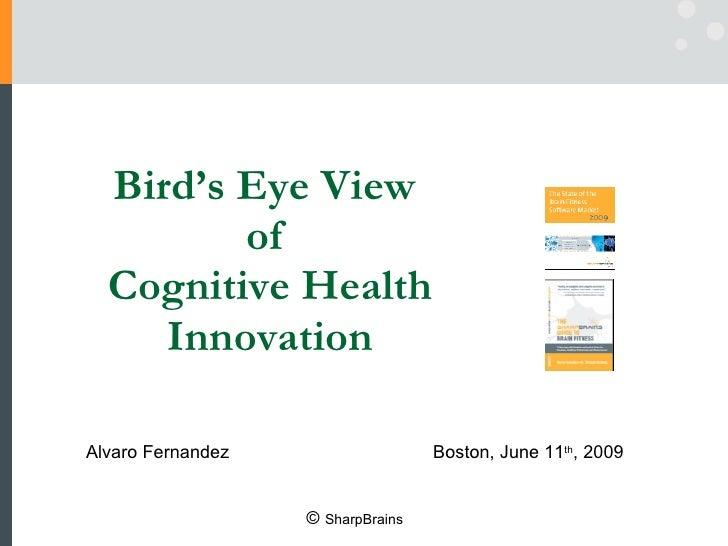 Bird's Eye View  of  Cognitive Health Innovation Alvaro Fernandez  Boston, June 11 th , 2009 ©  SharpBrains