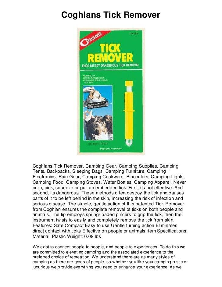 Coghlan/'s Tick Remover