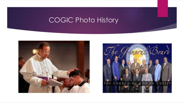The History of The COGIC