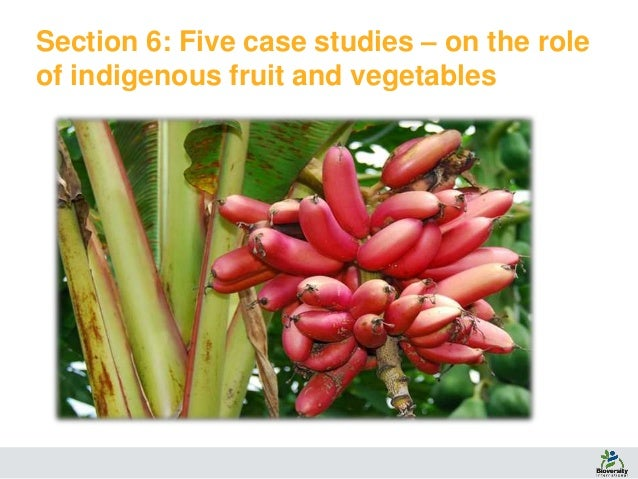 Contribution of indigenous fruits and vegetables to dietary diversity…