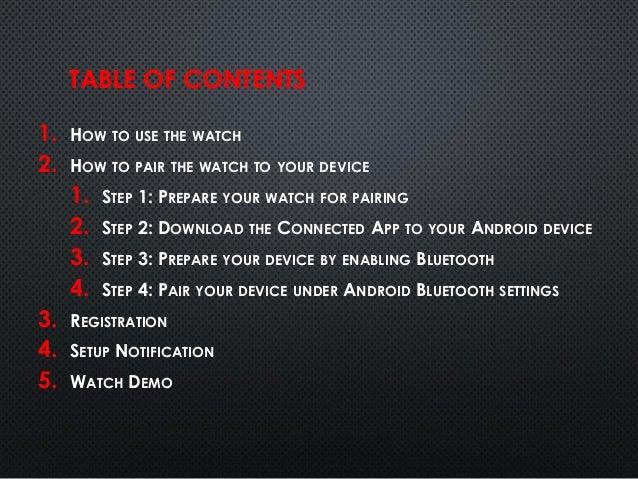 COGITO Classic Tutorial (Android)
