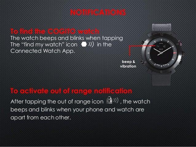 Cogito watch инструкция