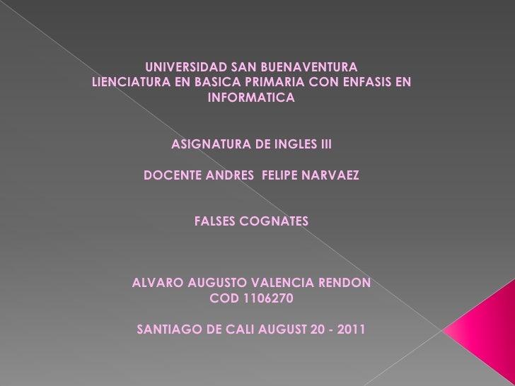 UNIVERSIDAD SAN BUENAVENTURALIENCIATURA EN BASICA PRIMARIA CON ENFASIS EN                 INFORMATICA           ASIGNATURA...