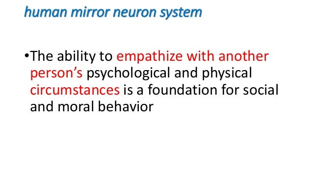 Cognitive circuits in neurology for Mirror neurons psychology definition