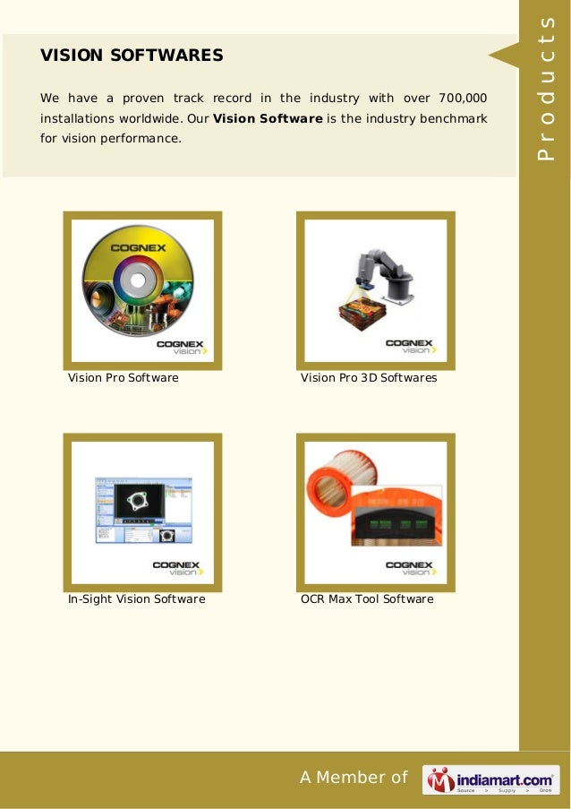 Cognex Sensors India Private Limited, Pune, Vision Systems