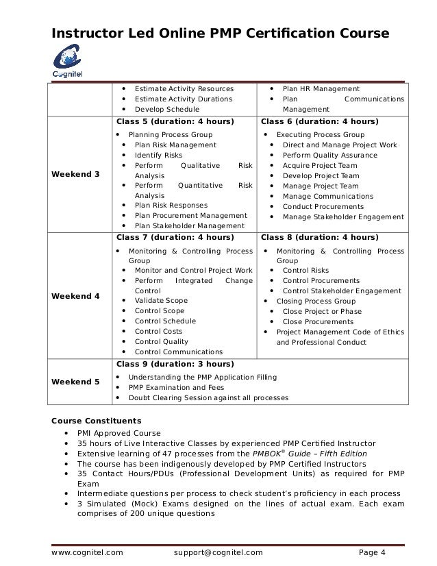 Free Professional Resume Project Management Certification Online