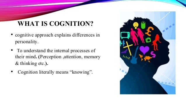 understanding the cognitive approach on the mental process The view of the learning process for a behaviorist is change in behavior, while a cognitivist views internal mental process (including insight, information processing, memory and perception) the locus of learning for behaviorists is the stimuli in external environments, whereas cognitivists have internal cognitive structuring.