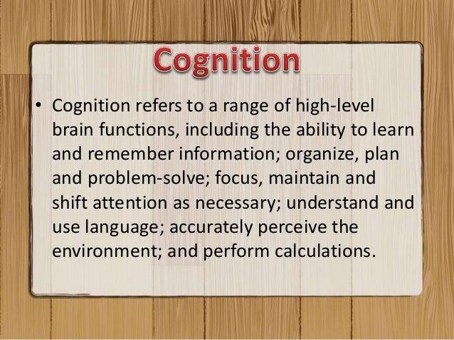 Cognition and organizational change  Slide 3