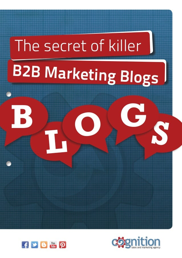 B2B Marketing BlogsThe secret of killerLB O SG