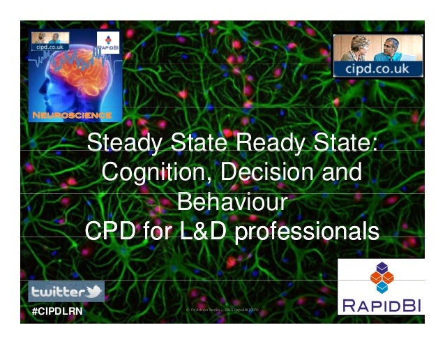 Neuroscience           Steady State Ready State:            Cognition, Decision and                   Behaviour           ...