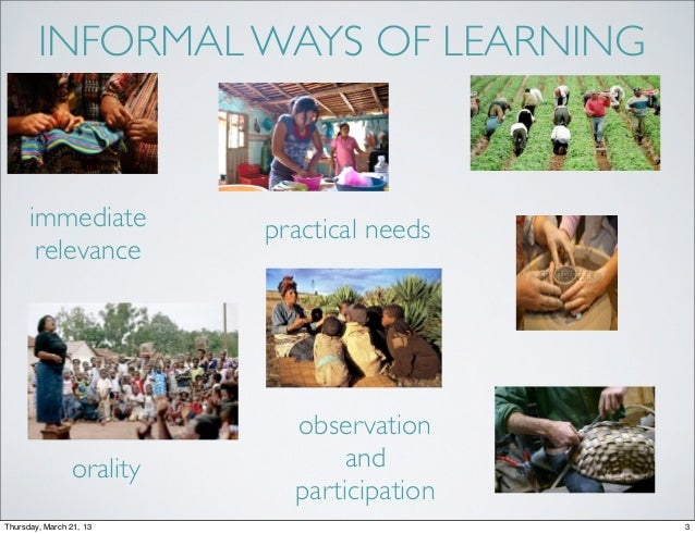 Cognition, Learning, and Formal Education Slide 3