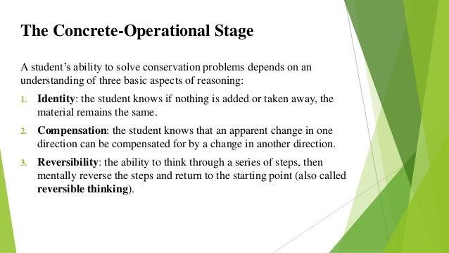 concrete operational reasoning