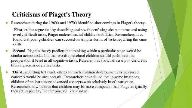piaget s cognitive attachment theory