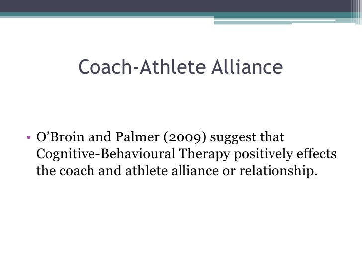 Athlete dating coach