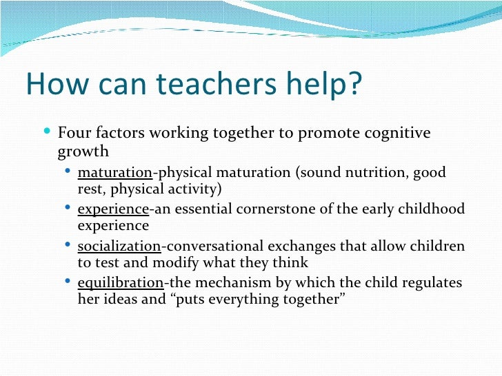 cognitive development through the curriculum  12