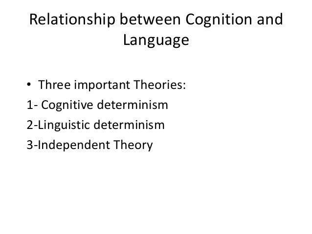 relationship between learning and cognition We will explore the distinction between learning and conditioning theories, and cognitive views of behavior processes of learning and cognition are, by there very nature, performance based  an important aspect to consider in measuring performation is whether or not the animal is motivated to perform a behavior.