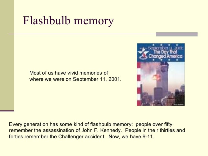 Flashbulb memory