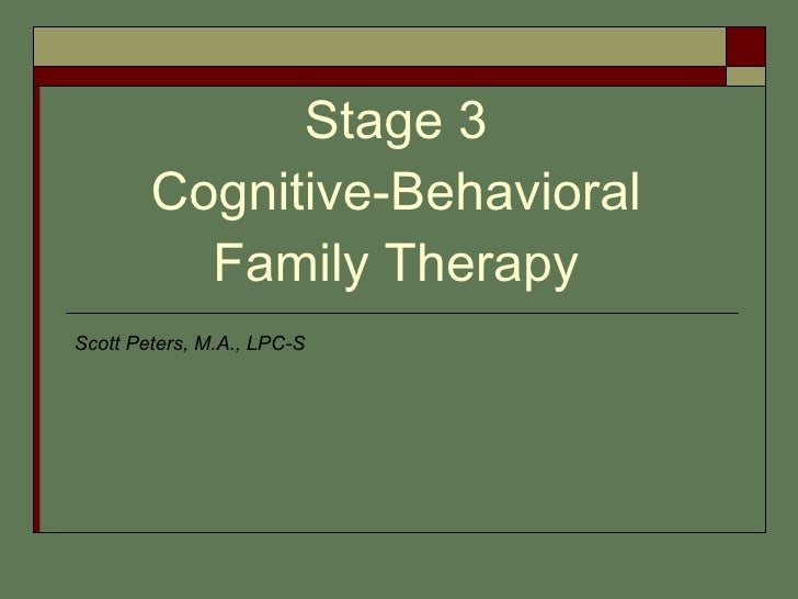 essays on cognitive behavioral therapy Read cognitive behavioral therapy and the structural family therapy free essay and over 88,000 other research documents cognitive behavioral therapy and the structural family therapy.