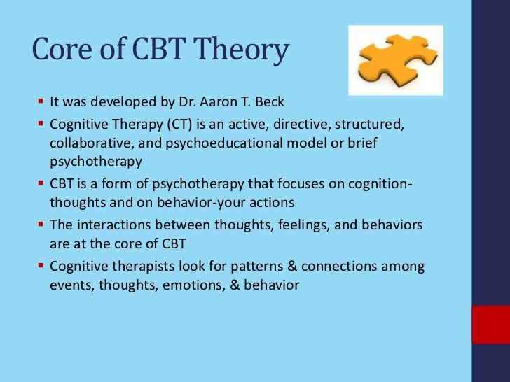 cognitive behavioral therapy 2 essay View this essay on mindfulness-based cognitive behavioral therapy a review mindfulness-based cognitive therapy mbct is a form of behavior therapy.