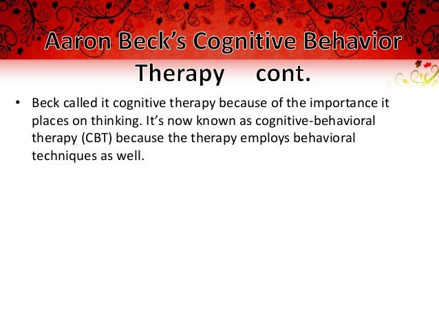 role of behavior therapy theories in Cognitive-behavioral therapy and treatment: psychotherapy techniques and psychological theory ny and ct licensed psychologist, psychotherapist, and counselor, robert m fraum, phd discusses cognitive behavioral psychological theory and treatment methods.