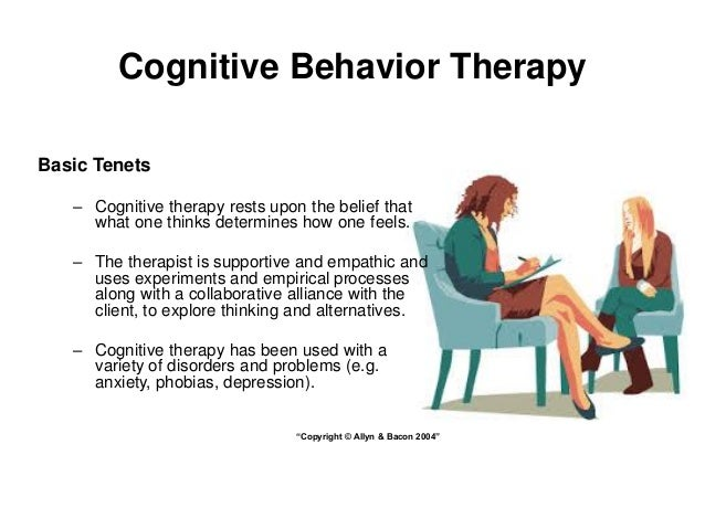 cognitive therapy The center for cognitive therapy is located on the 2nd floor of 3535 market  street, philadelphia pa once you are inside the suite labeled penn behavioral .