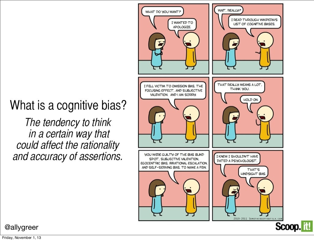 what is a cognitive bias?