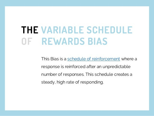 WHAT THIS MEANS? VARIABLE REWARDS engage more users than predictable rewards.