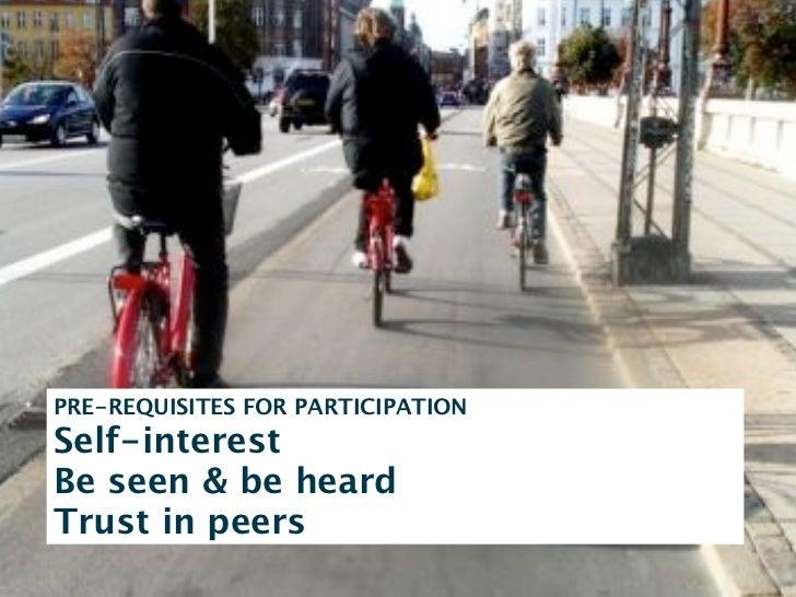 community   conversations    sharingidentity     social object     flow  trust       presence       relations