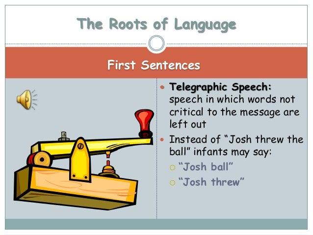 telegraphic speech example - geminifm.tk