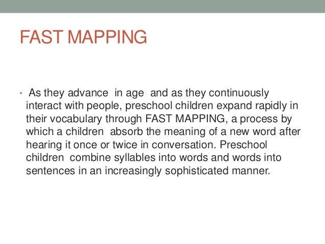 Cognitive development of preschooler by Nyssa Aquino, BSED - Biology