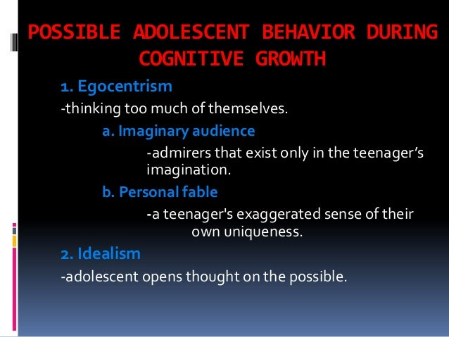 Cognitive Development On High School Learners