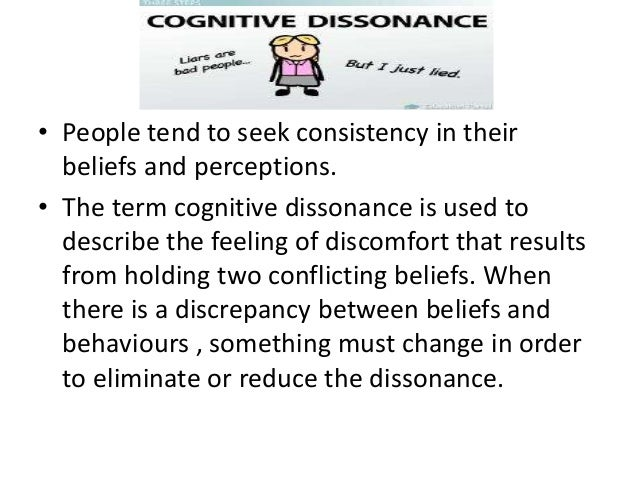 describe cognitive dissonance and describe how Cognitive dissonance and consonance theory is basic to understanding human thought and behavior (flesher the cognitive perspective emphasizes how people internally represent and think about the describe how freud's patient load may have influenced his theories about all people's.