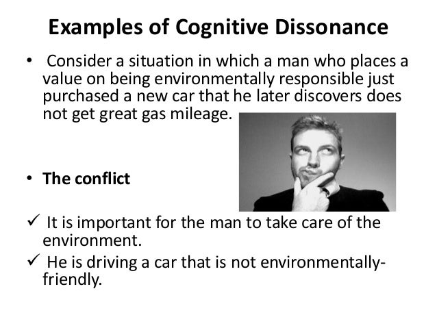how to change cognitive dissonance