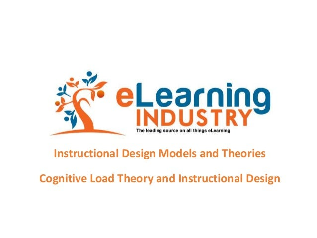 Instructional Design Models and Theories Cognitive Load Theory and Instructional Design