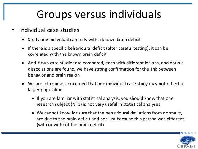 case analyze neuroscience