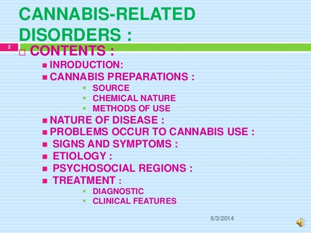 A study of the relation of marijuana use to psychosocial disorders