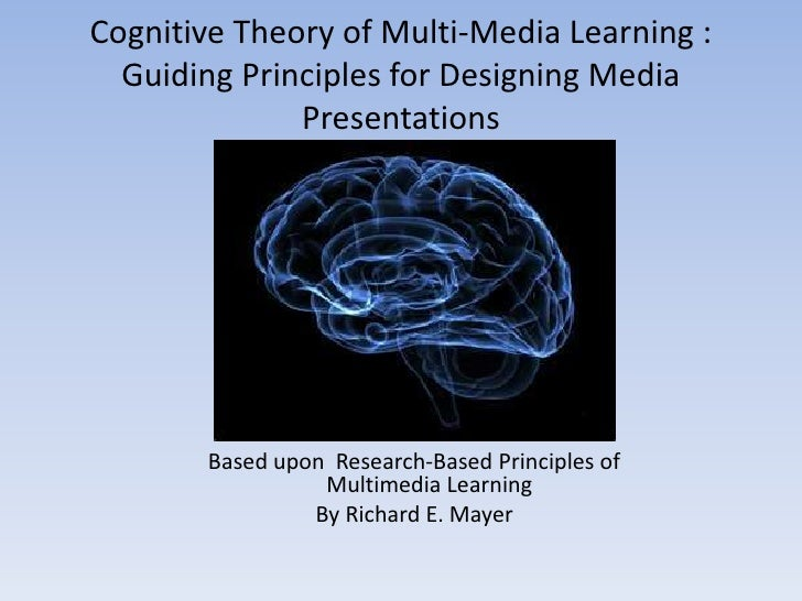 Cognitive Theory of Multi-Media Learning :  Guiding Principles for Designing Media              Presentations       Based ...