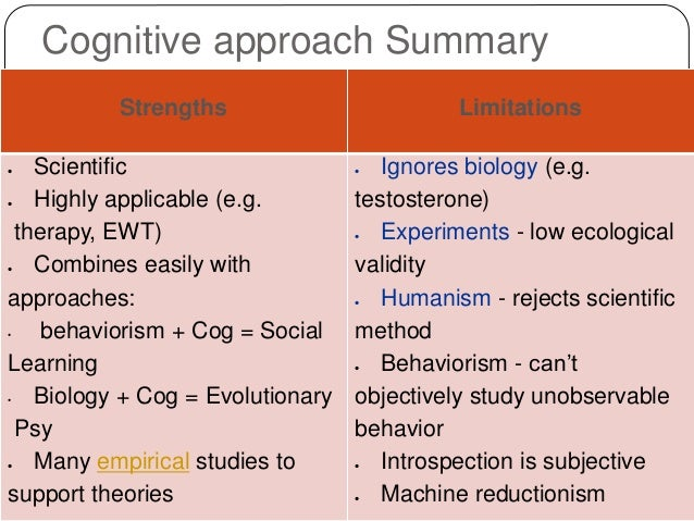 evolution of cognitive psychology as a Cognition, perception, and cognitive developmental and evolutionary psychology offers a balance between basic research and practical laboratory training in.
