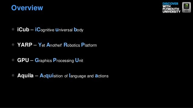 Cognitive robotics tools and technology Slide 2
