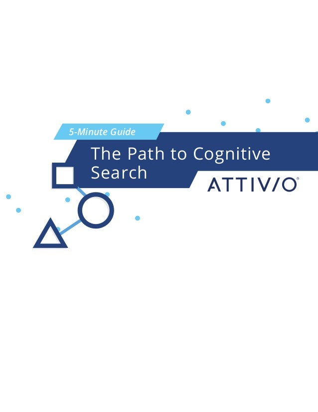 5-Minute Guide The Path to Cognitive Search