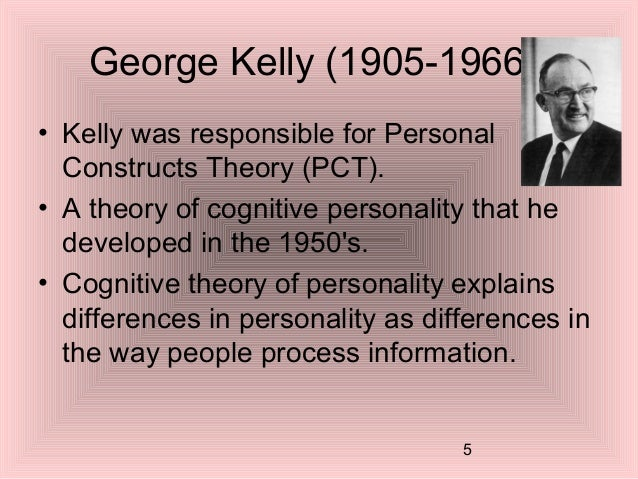 personal constructs theory pct analysis Personal construct theory originally drafted by the american psychologist george kelly in 1955, pct has been extended to a variety of domains, including organizational development, education, business and marketing, and cognitive science.