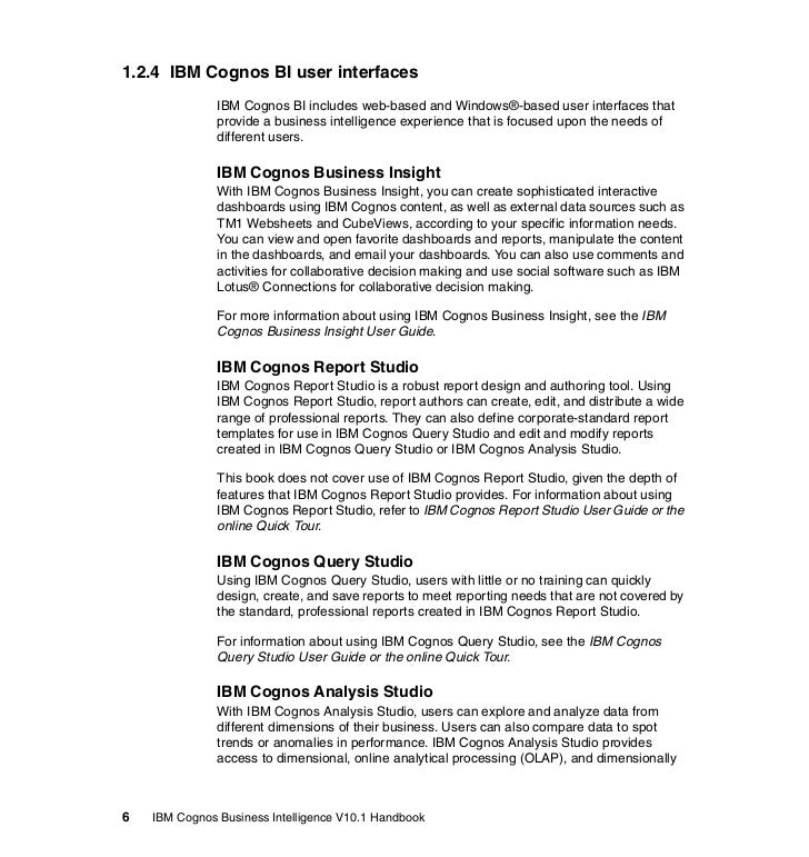 cognos rh slideshare net Cognos 10 2 Architecture Cognos Tutorial
