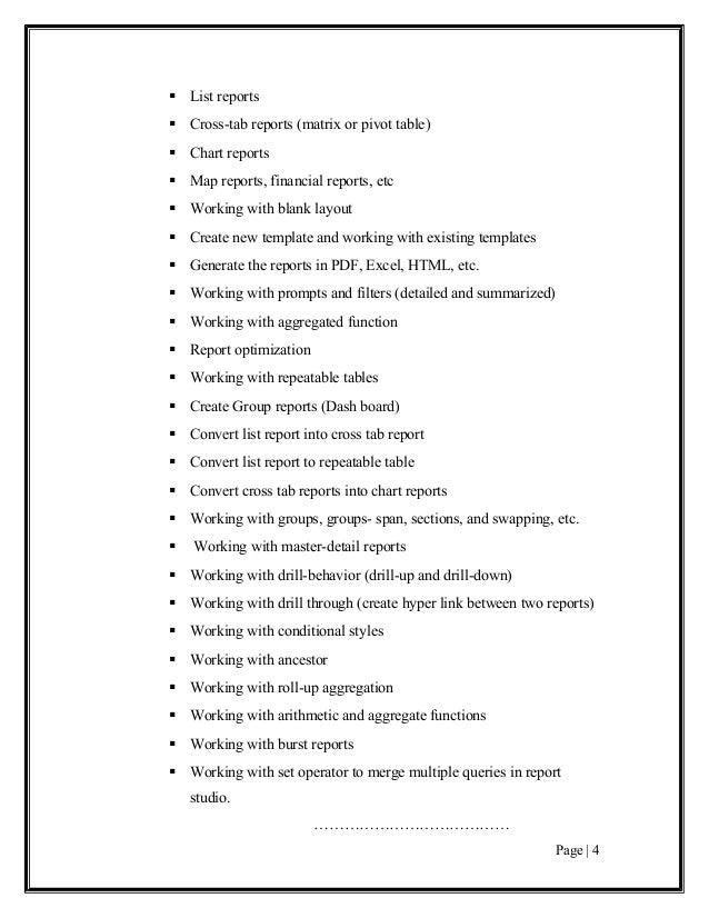 Cognos 10 pdf generation slow