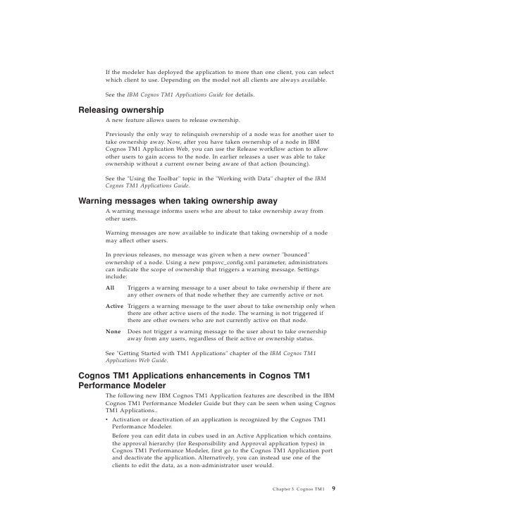 cognos tm1 user guide pdf