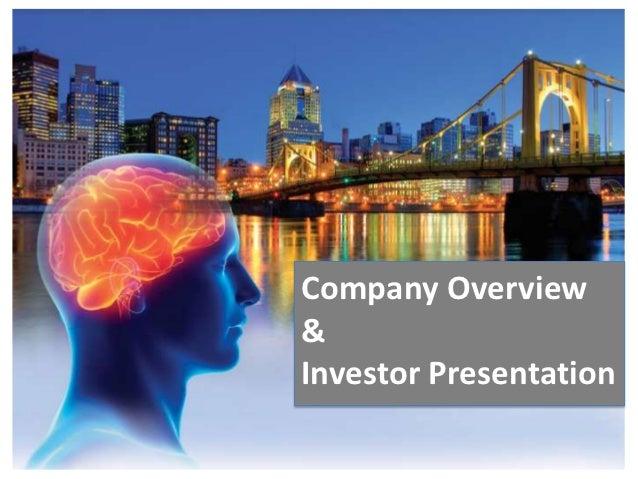 Company Overview&Investor Presentation